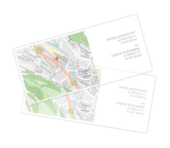 Mapka dojazdu - Podłużna